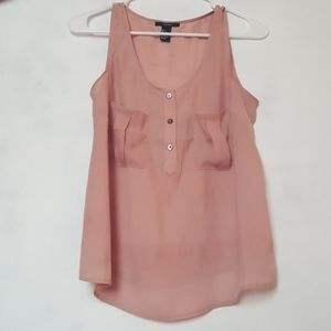 Forever 21 Dusty Rose Tank Top